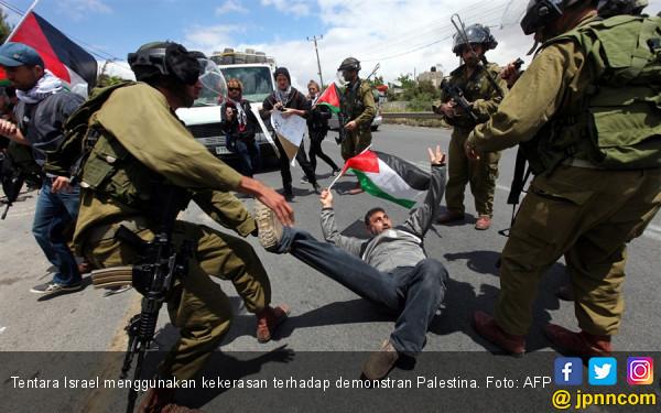 Brutal, Israel Sudah Bantai Tujuh Pemuda Palestina Tahun Ini - JPNN.COM