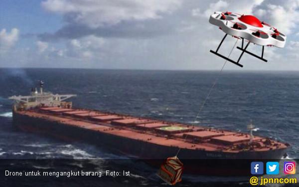 Keren, Diciptakan Drone Unik Untuk Angkut Barang - JPNN.COM