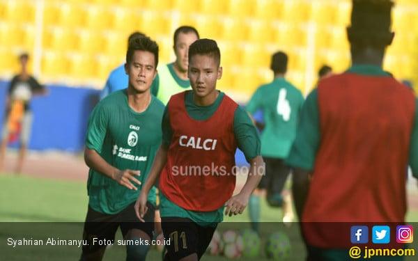 Dua Pemain Muda Sriwijaya FC Dipanggil Timnas U-19