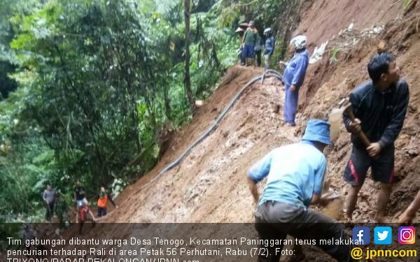 Pak RT Hilang, Diduga Tertimbun Tanah Longsor - JPNN.COM