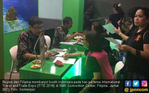 ITTE 2018, Buyers Filipina Banjiri Stan Indonesia - JPNN.COM