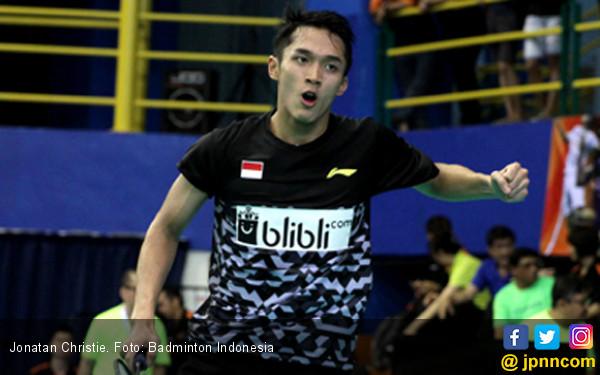 Jonatan Christie Memang Luar Biasa! Indonesia 1, Tiongkok 0 - JPNN.COM