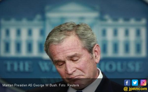 Bush: Rusia Terbukti Mencampuri Pemilu AS 2016 - JPNN.COM