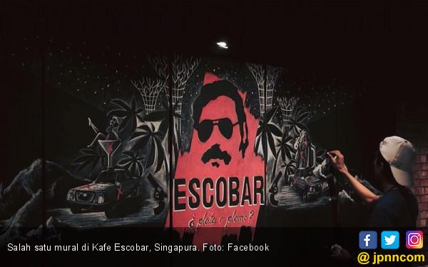 Escobar Nongol di Singapura, Kolombia Marah - JPNN.COM