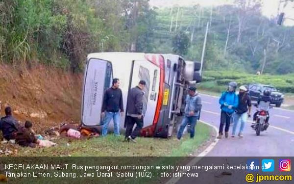 Korban Jiwa Kecelakaan Maut di Subang Sudah 26 Orang - JPNN.COM