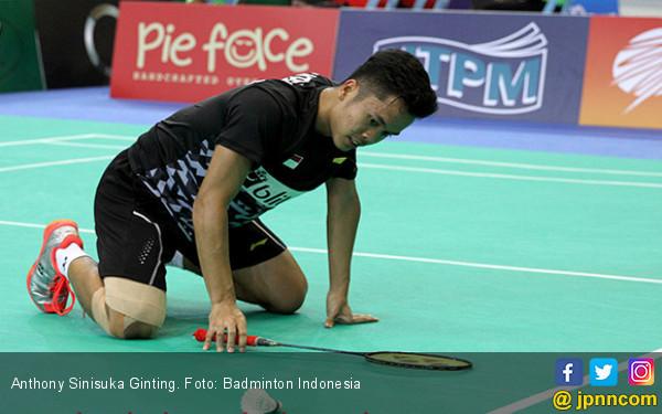 Ketat, tapi Sayang, Ginting Kalah dari Chou Tien Chen - JPNN.COM