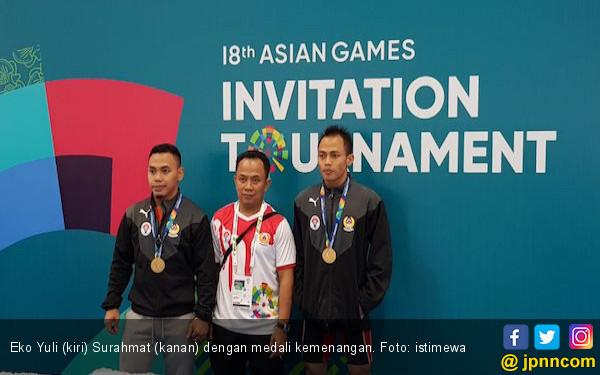 Eko Yuli Jadi yang Terbaik di Test Event Asian Games 2018 - JPNN.COM