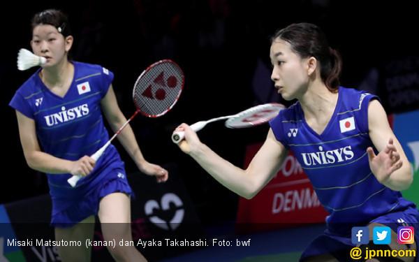 Misaki/Ayaka Menang, Juara Bertahan Tertinggal 0-2 - JPNN.COM