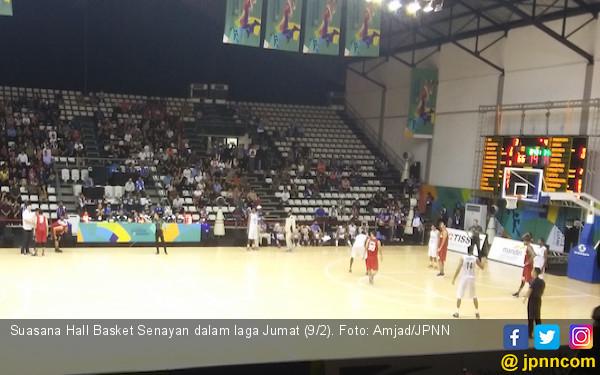 Panel Listrik Bermasalah, Test Event Basket Ditunda Sehari - JPNN.COM