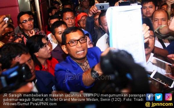 KPU Sumut Siap Hadapi Gugatan JR Saragih-Ance - JPNN.COM