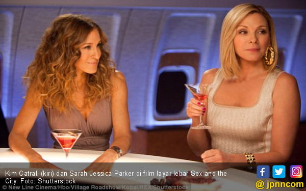 Brutal! Kim Catrall Damprat Sarah Jessica Parker di IG - JPNN.com