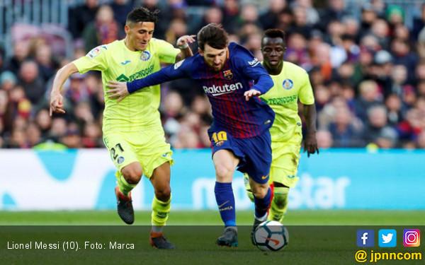 Barcelona Ditahan Getafe, Persaingan La Liga Terbuka Lagi - JPNN.COM