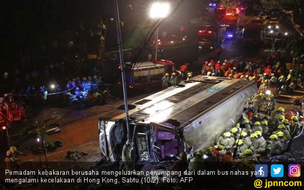 Sopir Bus Kesetanan, 19 Nyawa Melayang - JPNN.COM
