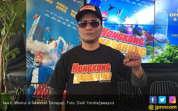 Iwa K Adu Akting dengan Sule di Hongkong Kasarung - JPNN.COM