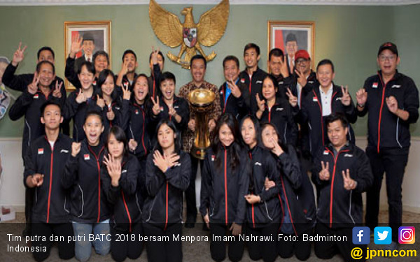 Menpora Baik Banget, Tim Badminton Dapat Bonus Rp 5 Miliar - JPNN.COM