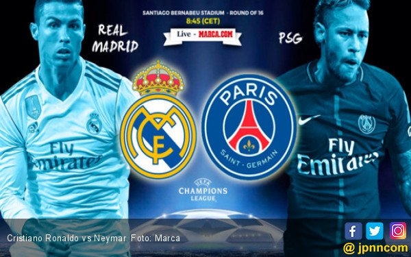 Data dan Fakta Real Madrid vs PSG - JPNN.COM