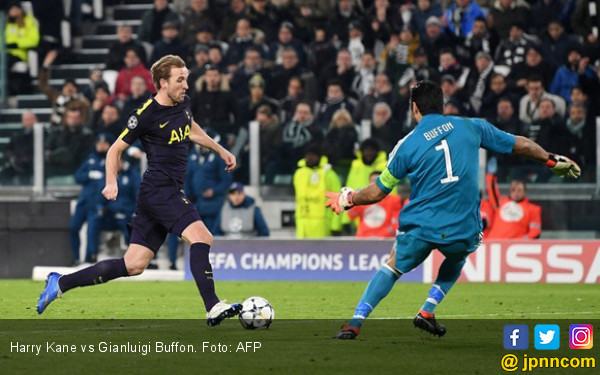 Drama 4 Gol Juventus vs Tottenham Hotspur - JPNN.COM