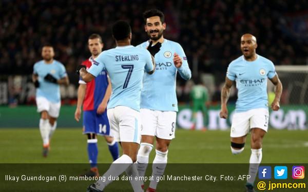 Olalaaaa! Manchester City Pesta Gol di Kandang Basel - JPNN.COM