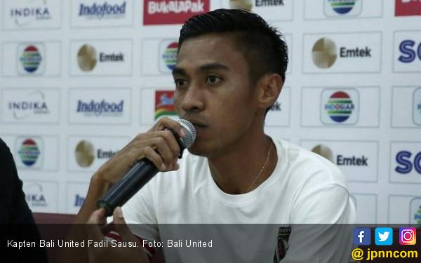 Permintaan Serius Kapten Bali United saat Lawan Sriwijaya FC - JPNN.COM