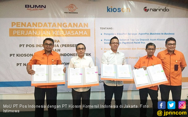 Jangkau Daerah, Kioson-Pos Indonesia Luncurkan Kios-Pos - JPNN.COM