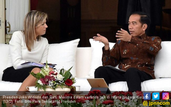 Jokowi dan Ratu Maxima Bahas Solusi untuk Inklusi Keuangan - JPNN.COM