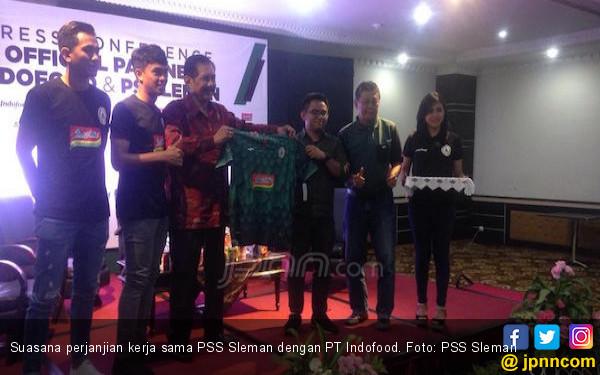 Sponsor Datang, Target PSS Sleman untuk Promosi Makin Terang - JPNN.COM