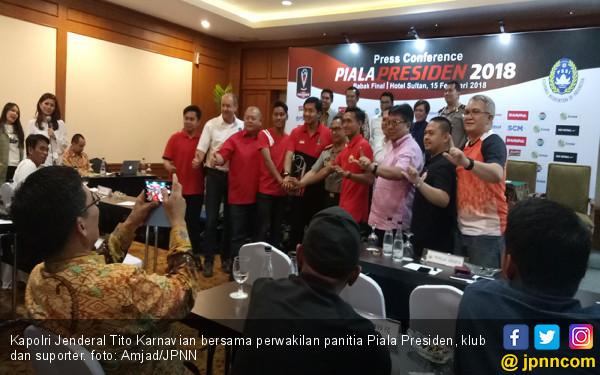 6 Ribu Personel Amankan Final Piala Presiden - JPNN.COM
