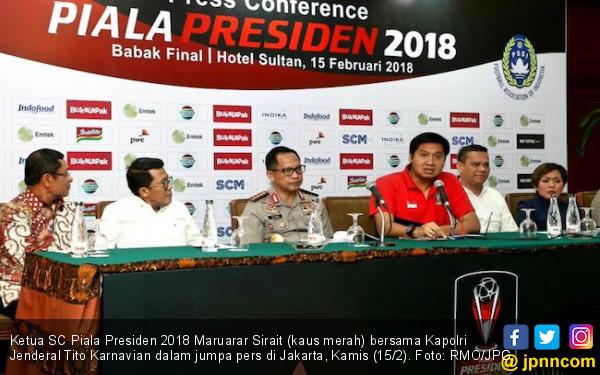 Piala Presiden 2018 Lancar, Bang Ara Banggakan Super Team - JPNN.COM