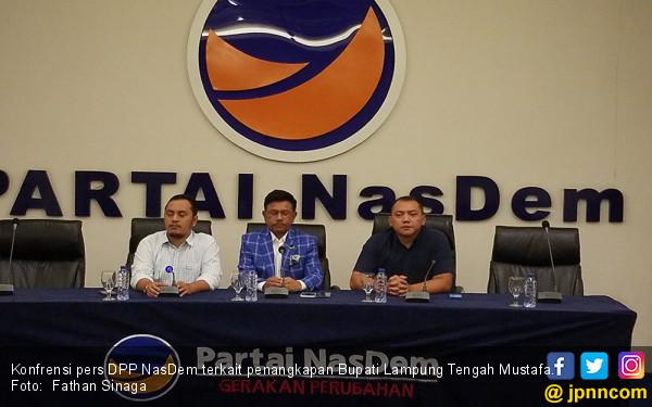 NasDem Pasrahkan Nasib Bupati Lampung Tengah kepada KPK - JPNN.COM
