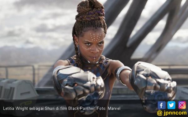 Nakal tapi Lucu, Adik Black Panther Mencuri Perhatian - JPNN.COM
