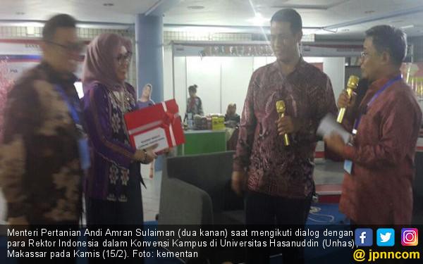 Mentan dan Forum Rektor Sepakat Bentuk Pokja Pangan - JPNN.COM