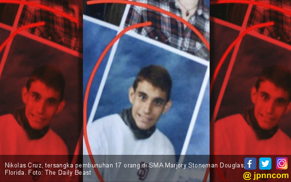 Siapakah Nikolas Cruz, Si Pembantai 17 Orang di SMA Florida? - JPNN.COM