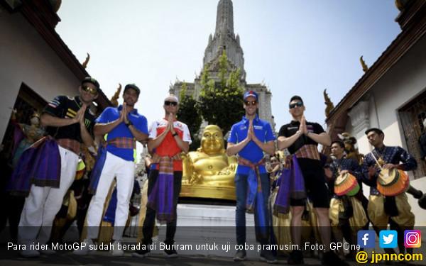 Uji Coba MotoGP di Buriram yang Penuh Misteri - JPNN.COM