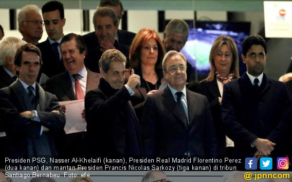Presiden PSG Tuduh Wasit Bantu Real Madrid - JPNN.COM