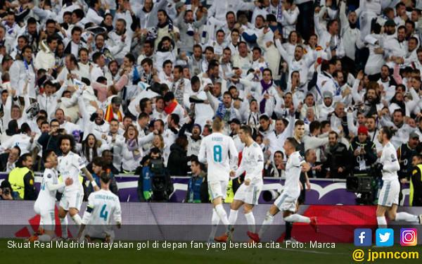 Pukul PSG, Real Madrid Berterima Kasih Kepada Pemain ke-12 - JPNN.COM