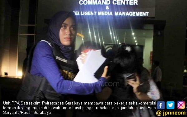 Duh, Sindikat Prostitusi Bandung Jualan PSK ABG di Surabaya - JPNN.com