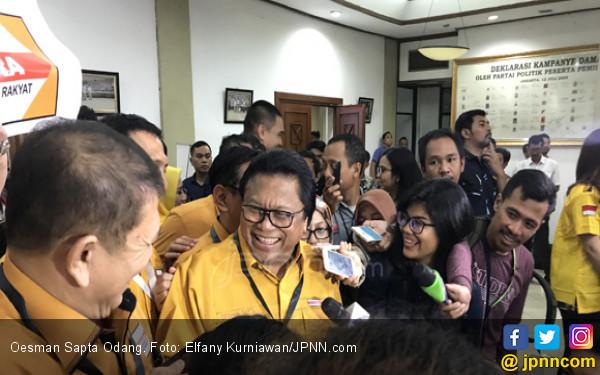 Soal Pidato Prabowo, Oso: Sampai Kiamat NKRI tak Bisa Bubar