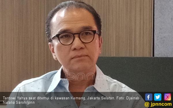 Rambut Tantowi Yahya Mulai Menipis dan Memutih, Aa Gym: Siap-siap Saja Mas! - JPNN.com