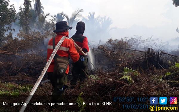 Pantauan Hotspot Nihil, Manggala Agni Tetap Waspada - JPNN.COM