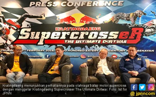 Ribuan Crosser Ramaikan Kejuaraan Superkros 2018 di 12 Kota