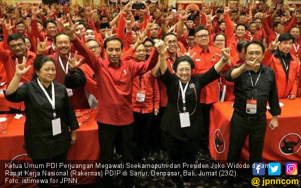 Pemilu 2019: Jokowi Yes, PDIP No - JPNN.com