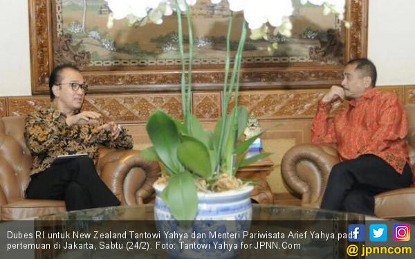 Tantowi Yahya-Arief Yahya Bersinergi Gaet Turis Negeri Kiwi - JPNN.COM