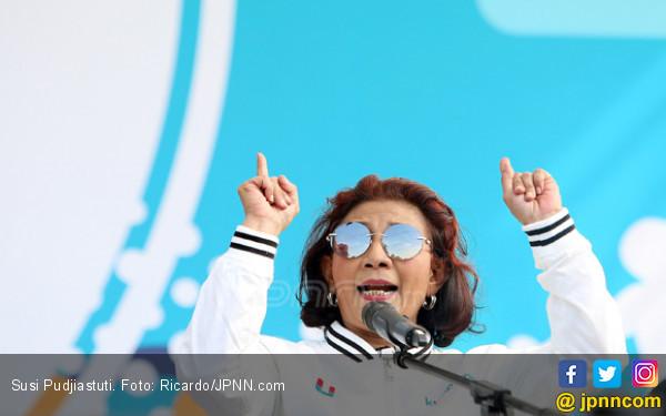 Ingin Jual Ikan Lagi, Bu Susi Berhenti jadi Menteri? - JPNN.COM