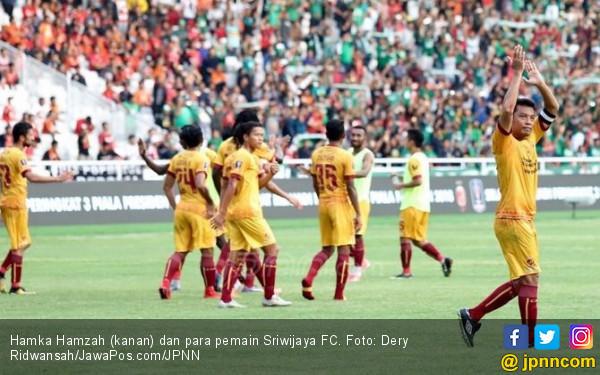 Hamka Hamzah Resmi Berpamitan ke Suporter Sriwijaya FC - JPNN.COM