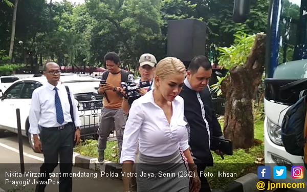 Nikita Mirzani Diperiksa Soal Dugaan Lecehkan Jenderal Gatot - JPNN.com
