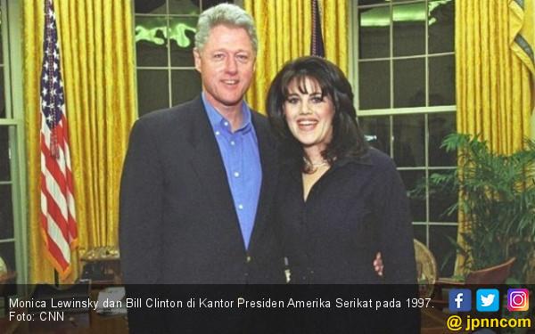 Monica Lewinsky Ungkit Lagi Hubungan Gelap dengan Clinton - JPNN.com