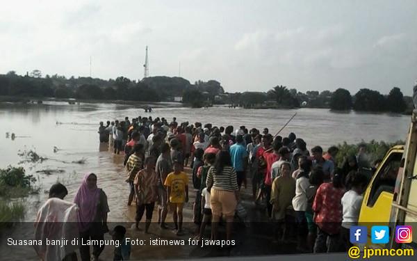 Kerugian Akibat Banjir di Waykanan Capai Rp 44 Miliar - JPNN.COM