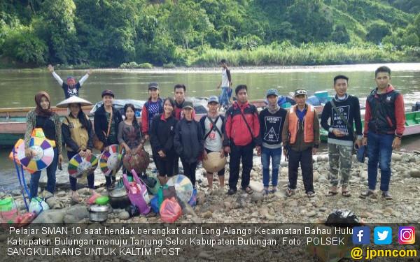Perjalanan 2 Hari Demi Ikut UNBK, Mereka Juga Anak Indonesia - JPNN.COM