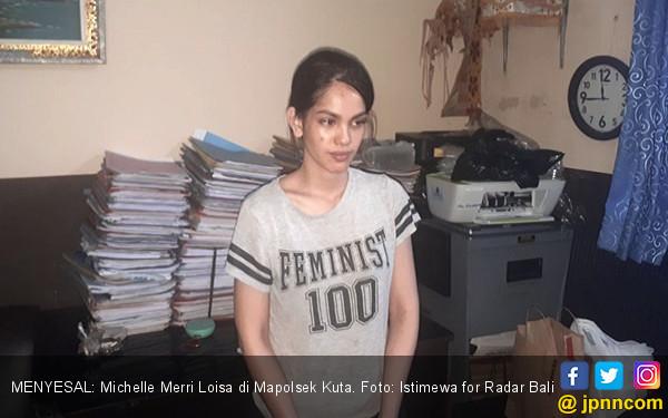Punya Narkoba, Michelle Eks Pramugari Garuda segera Diadili - JPNN.COM