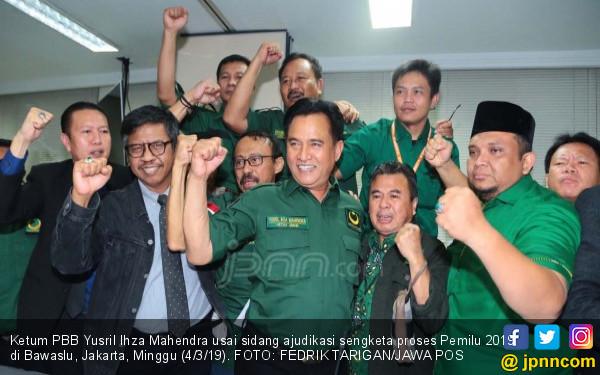 PBB Akui Suara Kader Signifikan untuk Jokowi - Ma'ruf - JPNN.COM